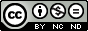 CC BY-NC-ND 3.0 icon